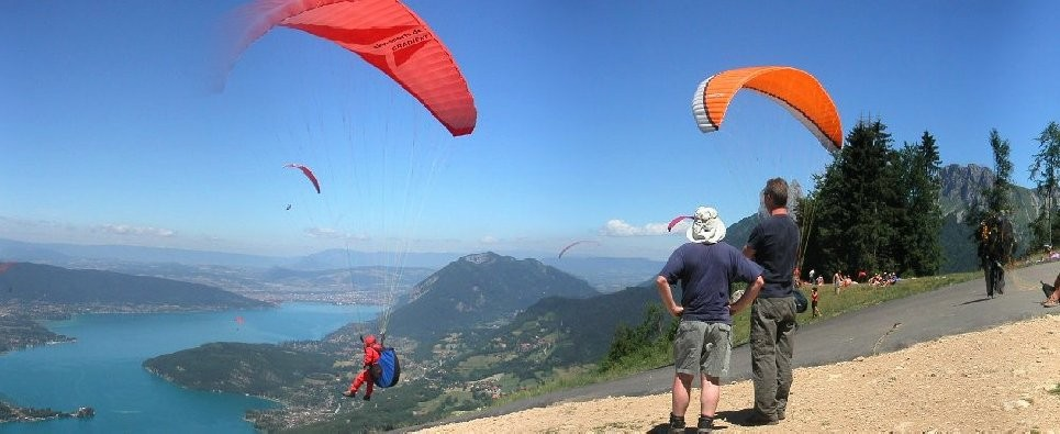 The paraglinding