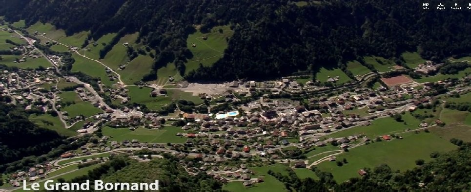 Le Grand Bornand centre village