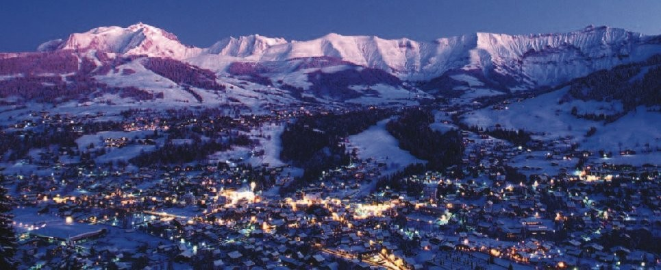 winter in Megeve french alps